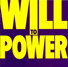 Will To Power - Will To Power - New LP