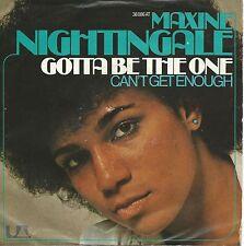 "Maxine Nightingale - Gotta Be The One (7"" UA-Records Vinyl-Single Germany 1976)"