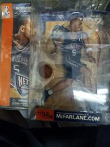 """Jason Kidd Nets Black Jersey 5 1/2"""" McFarlane Sports FIgure - NEW"""