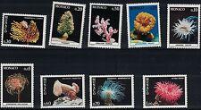 Monaco SC1259-1269 Coral/Anemones/SeaWorms/Plants&MarineLife MNH 1980