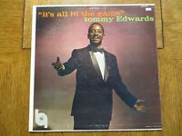 Tommy Edwards – It's All In The Game - 1958 - MGM Records E3732 Vinyl LP VG/VG+!