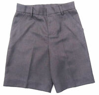 Boys School Shorts Grey or Grey Cargo  Style Ages 4 to 14 Years Adjustable Waist