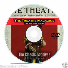 Theatre Magazine, 194 Issues, Vintage Plays Opera Arts Broadway Drama DVD C23