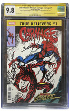 True Believers: Absolute Carnage #1 - Carnage | CGC 9.8 | 3 Signatures