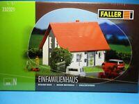 Faller N 232321 Bausatz Einfamilienhaus neu in Originalverpackung,M 1:160,