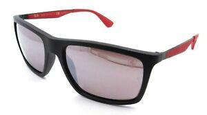 Ray-Ban Sunglasses RB 4228M F602/H2 58-18-140 Ferrari Black / Silver Polarized