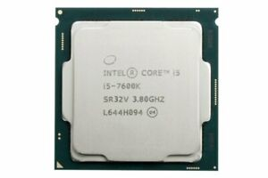 Intel Core i5-7600K 3.8 GHz CPU LGA 1151/Socket H4 4-Core Processor