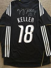 KASEY KELLER SIGNED SEATTLE SOUNDERS FC AUTOGRAPHED JERSEY MLS ADIDAS AUTO