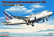 14429 1/144 EASTERN EXPRESS AIRBUS A-318 Airliner Air France model kit NEW!