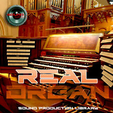 ORGAN`s REAL - HUGE Perfect 24bit WAVE Multi-Layer Samples Library 4.2GB on DVD