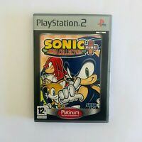 Sonic Mega Collection Plus (Sony PlayStation 2, 2004) PS2 - COMPLETE W/ MANUAL