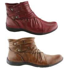 Flat (0 to 1/2 in.) Heel Casual Ankle Boots for Women