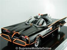 BATMOBILE BATMAN CLASSIC TV SERIES MODEL CAR 1/24TH SCALE BLACK ISSUE K897Q~#~