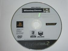 Winning Eleven 9 Japan Import PlayStation 2 PS2 - Disc Only