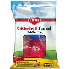 SUPERPET CRITTERTRAIL FUN-NELS 2PK PLUG FUNNEL CRITTER COLORS VARY FREE SHIP USA