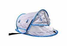 Monsaneta Baby Beach Tent with Mosquito Net,Baby Travel Bed,Sun Shade Baby
