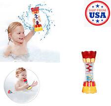 Kids Toddler Baby Bathing Bathtub Shower Plastic Water Cup Toys Beach Summer