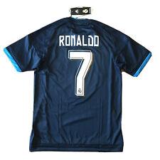 2015/16 Real Madrid Third Jersey #7 RONALDO Small Adidas Soccer Portugal NEW
