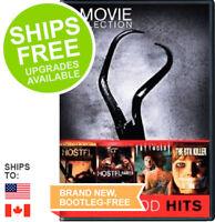 Hostel / Hostel 2 / The Tattooist / The Hunt for the BTK Killer (DVD, 2012) NEW