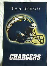 Nfl football américain san diego chargers rétro équipe casque poster 86CM x 56CM