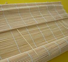 Bambusrollo Vorhang Bambus Rollo Holzrollo Sichtschutz Schnurzug Fensterrollo