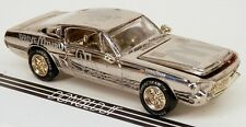 Racing Champions 1968 Ford Mustang Shelby GT500KR Chrome #94 1/64 Scale