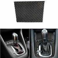 Vehicle Interior Ashtray panel Carbon Fiber Sticker For VW golf6 gti R MK6 08-12
