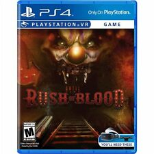 PS4 Until Dawn Rush of Blood VR NEW Sealed Region Free USA **FAST FREE SHIP USA!