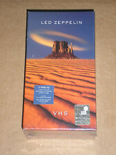 LED ZEPPELIN  - RARO BOX 2 VIDEOCASSETTE VHS SIGILLATO (SEALED)