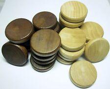Brettspielzubehör Backgammon Spielsteine 35 x 8 mm Zubehör Holz