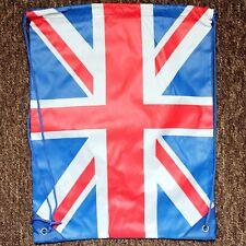 Union Jack Swim Bag Gym / Shoe / Trainer / Pe / School / Dance Bag Kids Children