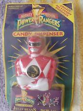 Mighty Morphin Power Rangers Candy Dispenser  Saban 1993