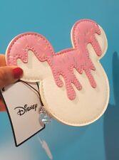 Disney Minnie Mouse Mickey Estuche Bolsa De Maquillaje BNWT Nuevo 2018 Raro