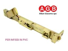 Catenaccio inferiore AGB A200362201 53518001 per Infissi in PVC anta ribalta