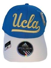 adidas UCLA Bruins Blue white Sideline Structured Flex Hat L xl bb242810b249
