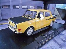 SIMCA 1000 Rallye 2 gelb yellow mit schwarz 1976 Norev RAR 1:18