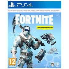 Juego Sony PS4 Fortnite lote Criogenización