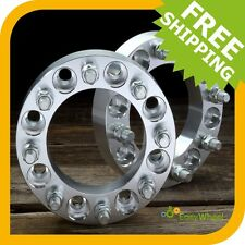 Dodge Dually Wheel Spacers - 8x6.5 Wheel Spacers with 9/16 studs - 2 inch thick