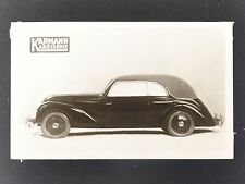 ✇ ADLER TRUMPF KARMANN 40er-Jahre Originalfotos von Karmann 1 von 2 Stück
