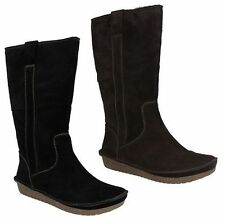Clarks Suede Casual Boots for Women