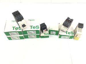 8er Set Schneider zB 4x TeSys-940536 Motorschutzschalter in OVP