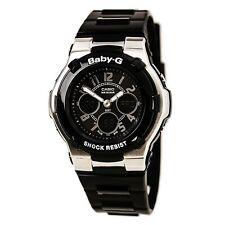 Casio Women Watch Baby-g Ana-digi mundo Temporizador Alarma Correa Negra BGA110-1B2