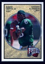 ROBERT GRIFFIN III RG3 MINT BROWNS ROOKIE CARD RC SP 2012 UD HEROES #5