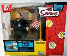 Simpsons Court Room Playmates Environment Wos Mib Judge Snyder Rare