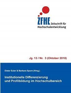 Institutionelle Differenzierung und Profilbildung im Hochschulbereich  New Book