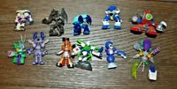 "Medabots 2"" Figure Lot of 6  Takara  Hasbro 2001 Rokusho vs robo-emporer"