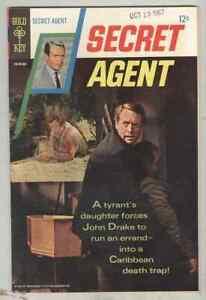 Secret Agent #2 FN+ 1967