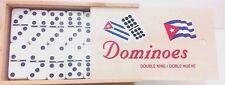 Cuban Flag Double Nines Dominoes Set Wood Box …
