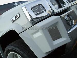 FRP Fiber Glass Kit Fit 03-09 Hummer H2 Branew Style Front Corner Spoiler