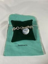 Women's Sterling Silver Tiffany And Co Charm Bracelet